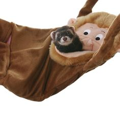 Hamac singe pour #furet https://www.monfufu.com/furets-cages-parcs/108-marshall-hamac-singe-furet.html