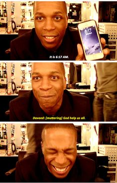 That moment when I am Daveed.  Aaron Burr, Sir: Backstage with Leslie Odom, Jr.