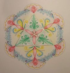 Thankful Mandala original op Etsy, 28,80 €