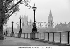 Big Ben  Houses Of Parliament, Black And White Photo - 121137394 : Shutterstock