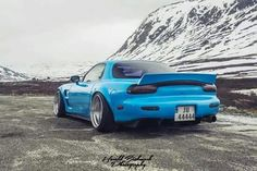 FD Rx7. Awesome view.