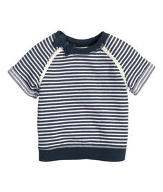 Kortærmet sweatshirttop | Product Detail | H&M