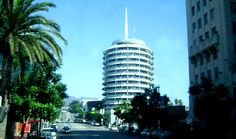 Capitol Records Building in Hollywood, CA