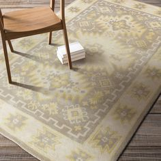 Hand-tufted Bette Southwestern Wool Rug (8' x 11') - Overstock™ Shopping - Great Deals on 7x9 - 10x14 Rugs