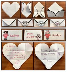 Getting Even The Most Reluctant Writers Excited fathers day presents, fathers day baby craft, fathers day gift Grandparents Day Activities, Father's Day Activities, Valentines Day Activities, Valentine Day Crafts, Valentine Ideas, Diy Father's Day Gifts, Great Father's Day Gifts, Father's Day Diy, Gifts For Kids