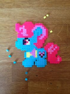 Miss Cup Cake. My little pony. Bead pattern