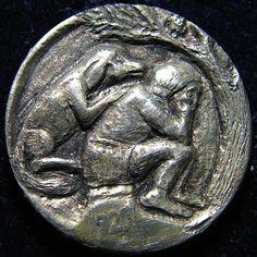 BEN WELLS HOBO NICKEL - INDIAN'S BEST FRIEND - 1920 BUFFALO NICKEL Hobo Nickel, Rare Coins, Wells, Sculpture Art, Buffalo, Carving, Silver, Wood Carvings, Sculptures