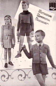 The Vintage Pattern Files: Free 1930's German Knitting Booklet - Die Schachenmayrin 8/39