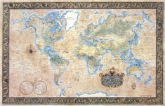 OMNIANT-P-World Antique-style PAPER-ONLY