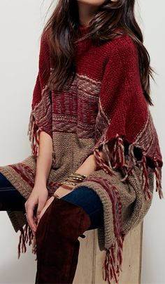 comfort and warmth-tassel-sweater-stitching-color