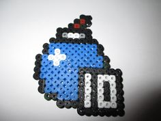 Hama Beads Zelda: Bombs