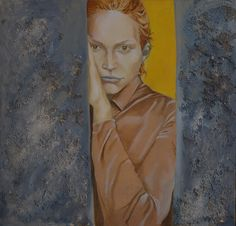 Gianni Contursi- L'attesa oil on the table