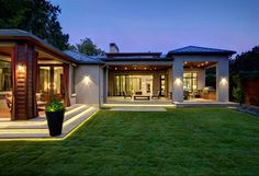 Bluffview Estates contemporary-exterior