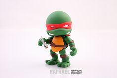 Teenage Mutant Ninja Turtles Mini Figures by Joe Allard, via Behance