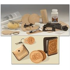 Leather Working Tooling Stamping Carving Cell Phone Case KIt Project Tandy