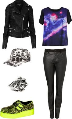 "Outfit Inspired by 2NE1s Minzy in the mv I am the best""  More outfits on I Dress Kpop"