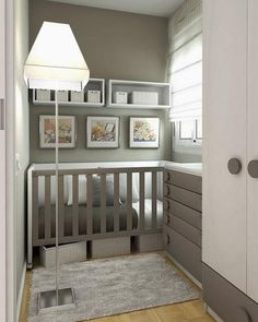 23 Practical And Stylish Tiny Nursery Dcor Ideas