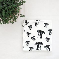 Greyhound Print Swaddle Blanket, Organic Cotton Baby Receiving Blanket, Whippet Print Baby Gifts, Dog Themed Baby Shower Ideas For Girl Boy Baby Receiving Blankets, Baby Girl Blankets, Personalized Baby Blankets, Baby Prints, Baby Shower Themes, Shower Ideas, Organic Baby, Organic Cotton, New Baby Products
