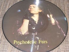 Psychedelic Furs Limited Edition Interview PICTURE DISC LP Record MM 1257