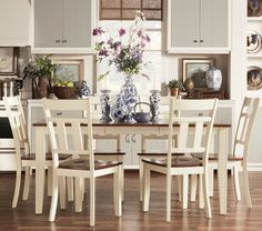 TRIBECCA HOME Eli Rustic Two-tone Mission Extending Dining Set: http://www.frugalbuzz.com/compare-prices/query/TRIBECCA%20HOME%20Eli%20Rustic%20Two-tone%20Mission%20Extending%20Dining%20Set
