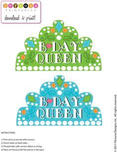 Birthday Printable Page 1