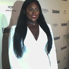 @daniebb3  at the Entertainment Tonight event #emmyweekend #outandabout  #hairby @larryjarahsims #gorjessmakeup by me