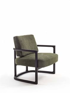 Armchair with frame in solid ash and cover in the fabrics of the collection. Table And Chairs, Dining Chairs, Thai Design, Sofa Chair, Office Furniture, Outdoor Chairs, Accent Chairs, Interior Design, Venus