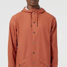 Rusted Red Raincoat