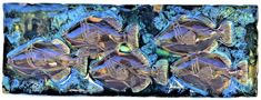 Hawaiian Sea Turtle, Hawaiian Designs, Handmade Kitchens, Kitchen Backsplash, Whale, Tropical, Ceramics, Artwork, Shower