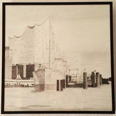 YEJI KIM: Elbphilharmonie, Hamburg, Germany - harbour, cap sandiego