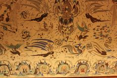 The Mogao Caves or Mogao Grottoes.