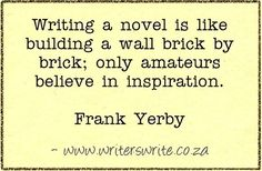 Quotable - Frank Yerby - Writers Write