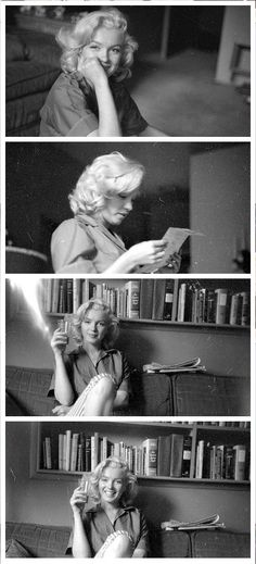 Marilyn. Photos by Milton Greene, 1953.