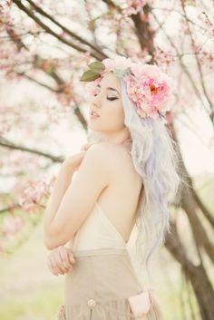 How pretty!! she looks like a fairy :-)