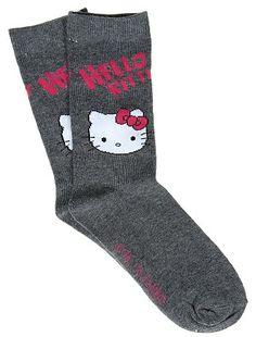 Calzini 'Hello Kitty'                                                                                         grigio scuro Do...