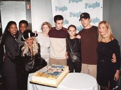 Paul and the cast of She's All That at Teen People 1st Anniversary celebration 13th Jan 1999