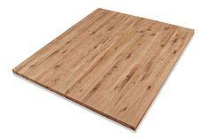 Möbelbauplatte Massivholz Wildeiche / Asteiche DL 19 x diverse Längen x 1210 mm