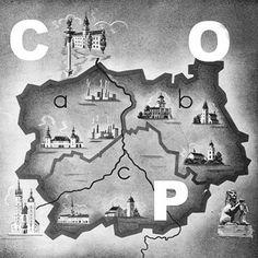 Plakat Centralny Okręg Przemysłowy