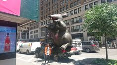 Saw a rat in New York city