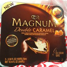 Magnum ice cream bars are heavenly.  Do yourself a favor and NEVER try these, you'll be addicted like me!