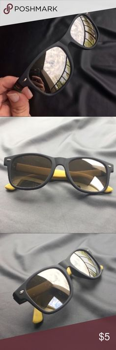 Men's Piranha Retro Sunglasses In good condition. Very few light scratches to the lenses but nothing that gets in the way of visibility. I do not have a case for these so no case with purchase. I'm sorry but I'm only looking to sell at this time so sorry but no trades. My listing price is firm. Piranha Accessories Sunglasses