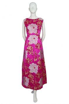 1960s Pink Silk Brocade Malcolm Starr