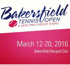 The 2016 #Bakersfield Tennis Open, supported by Chain | Cohn | Stiles, is in full swing. Catch some free world-class competition right here in #KernCounty. Go to brctennis.com for the full schedule.