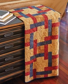 Woven Squares Quilt Pattern