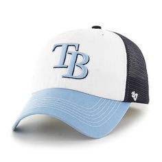 the latest 18cf7 2896c Tampa Bay Rays Mckinley Closer Navy 47 Brand Stretch Fit Hat