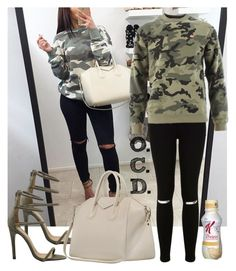 """""""Camo Sweatshirt."""" by oreocaker ❤ liked on Polyvore featuring Miss Selfridge and OBEY Clothing"""