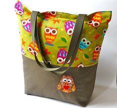 Shopper bag from DaWanda shop ideenwirbel