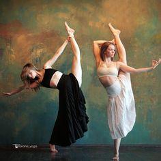 #yoga #dance #split https://instagram.com/lorana_yoga