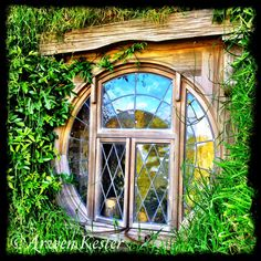 Hobbit window, hehehe....