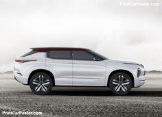 Mitsubishi GT-PHEV Concept 2016 poster, #poster, #mousepad
